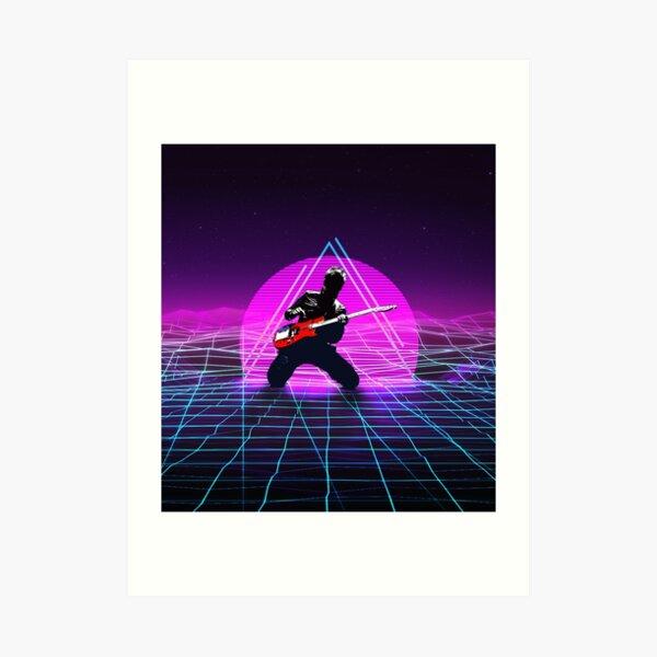 Muse Matt 1980 Style Lámina artística