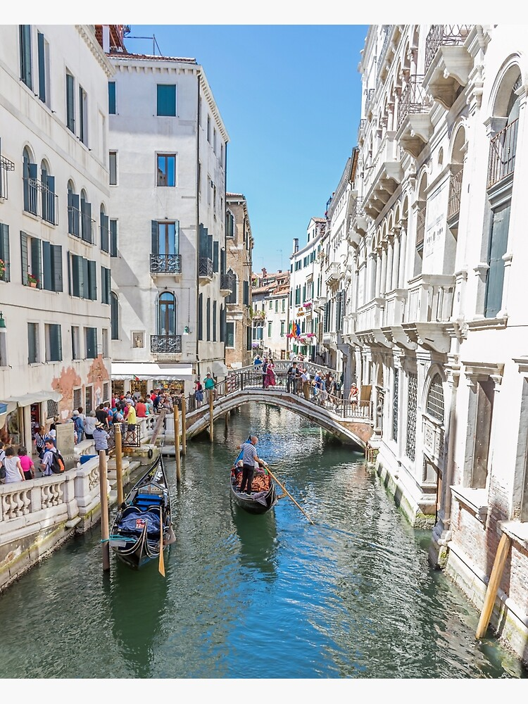 Venice bridges and canal, Italy by tdphotogifts
