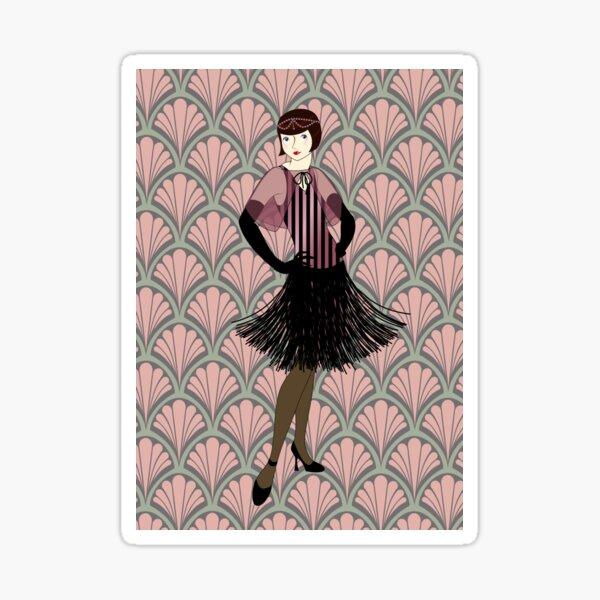 Flapper bereit für die neuen Roaring Twenties! (7) Sticker