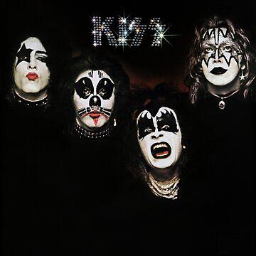 Kiss 1974 by oonchelog