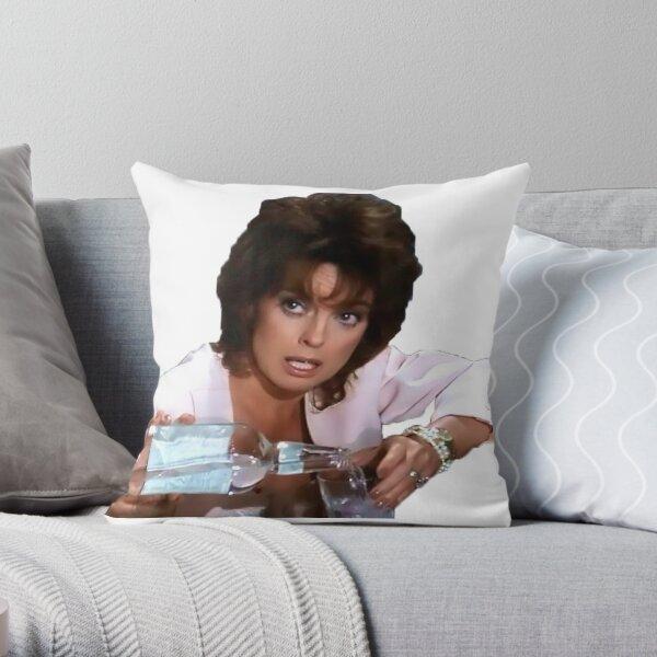 Dallas - Sue Ellen Throw Pillow
