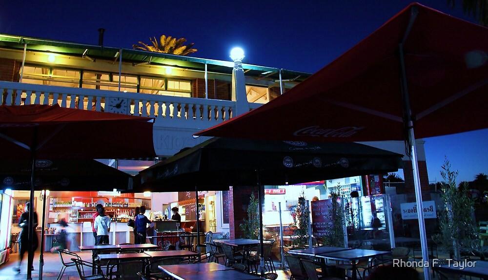 Beach House Cafe- Eastern Beach Geelong Au by Rhonda F.  Taylor