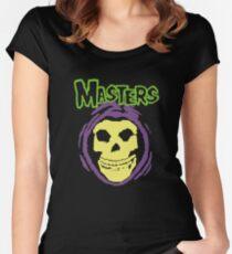 Masters Misfits Skeletor Mash Up Women's Fitted Scoop T-Shirt