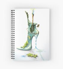 Witch Boot! Spiral Notebook