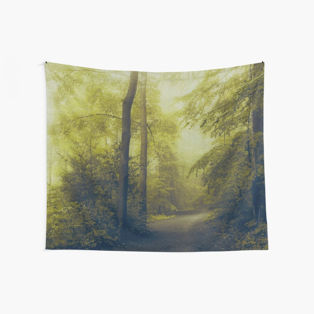 Forest Walk Wall Tapestry