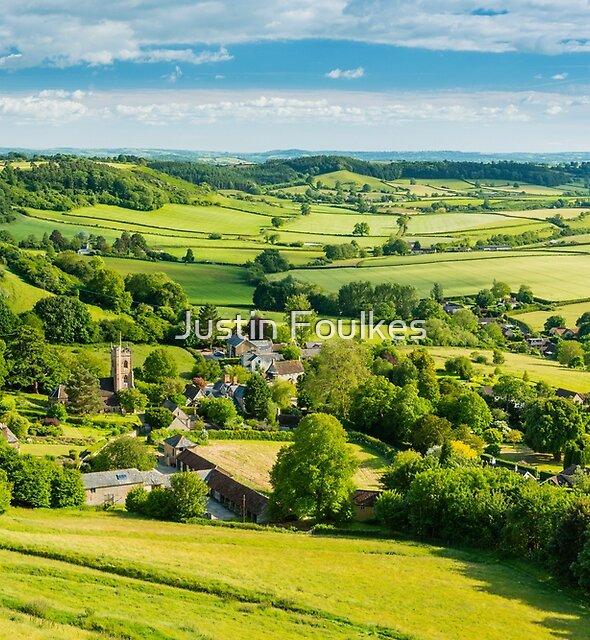 Corton Denham, Somerset, England, UK by Justin Foulkes