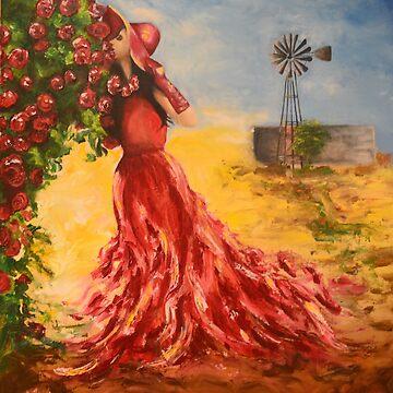 39. Roos van die Karoo by mviljoenart