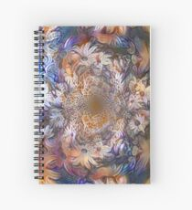 Floral abstract pattern Spiral Notebook