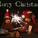 Merry Christmas Deano Bears by Dean Harkness