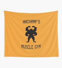 Machamp's Muscle Gym Wall Tapestry