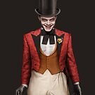 Ringmaster Jerome with a cane by William Gray