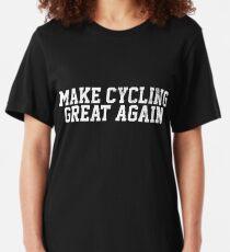 Bike Make Cycling Great Again Slim Fit T-Shirt