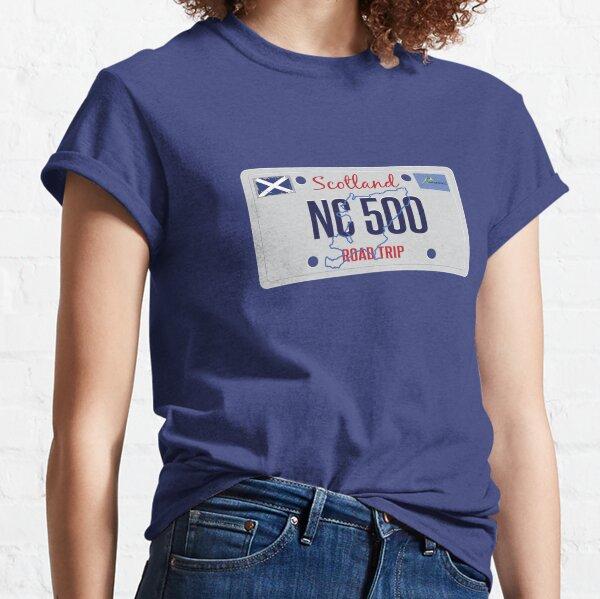 NC500 North Coast 500 Scotland Road Trip Classic T-Shirt