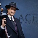 Joaquin Phoenix as Arthur Fleck at Ace Chemicals by William Gray