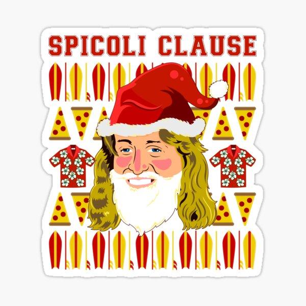 Spicoli Clause Sticker