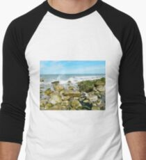 Rocky Shore Men's Baseball ¾ T-Shirt
