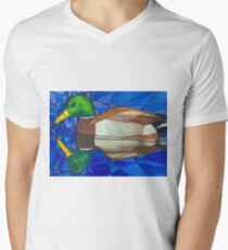 Reflective Duck V-Neck T-Shirt