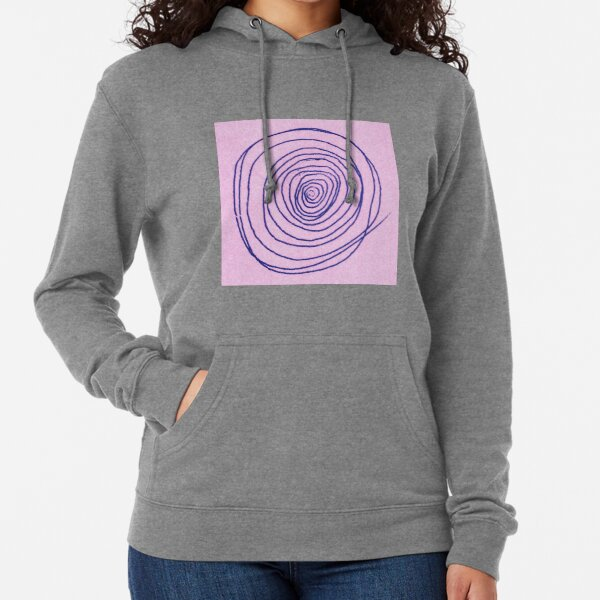 #illustration #pattern #abstract #chalkout #design #art #vector #spiral #symbol #shape #scribble #circle #nopeople #inarow #textured #oldfashioned #retrostyle #square Lightweight Hoodie