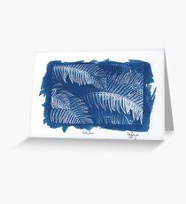 Frosty Ferns Greeting Card