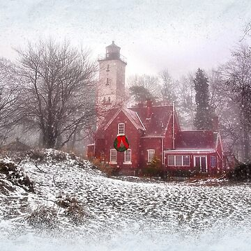 Christmas at Presque Isle Lighthouse - Erie, PA by kdxweaver