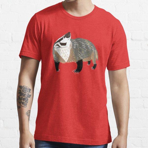 Western American Badger Camiseta esencial