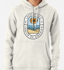Fort Lauderdale Florida Badge Pullover Hoodie