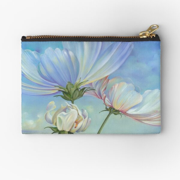 In the Half-shadow of Wild Flowers Zipper Pouch