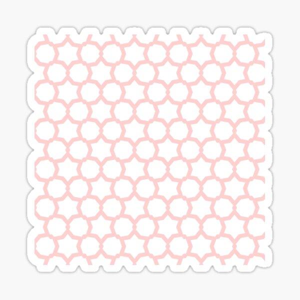 Pink Pattern Sticker