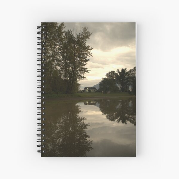 Reflections of the Farm Spiral Notebook