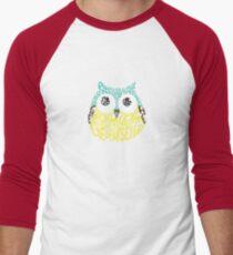Wise Old Bird Men's Baseball ¾ T-Shirt