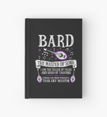 BARD, THE MASTER OF SONG - Dungeons & Dragons (White) Hardcover Journal