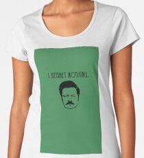 i regret nothing Premium Scoop T-Shirt