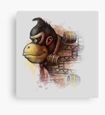 Mr. Kong Canvas Print