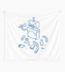 Robot - 400 that's an error Wall Tapestry