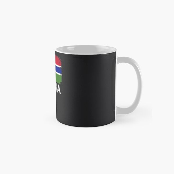 Gambian Flag Design | Vintage Made In Gambia Gift Classic Mug