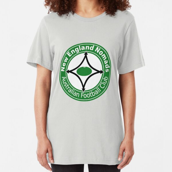 Yet another Nomads logo (for coloured shirts) Slim Fit T-Shirt