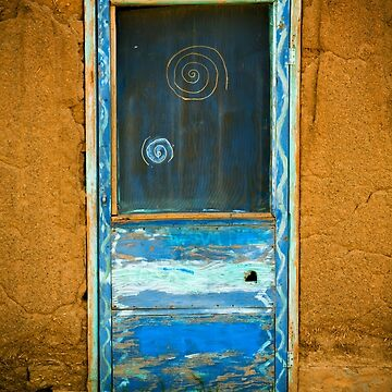 Taos Pueblo Screen Door by doorfrontphotos