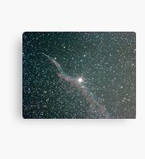 witches broom nebula NGC6960 Canvas Print