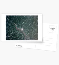 witches broom nebula NGC6960 Postcards