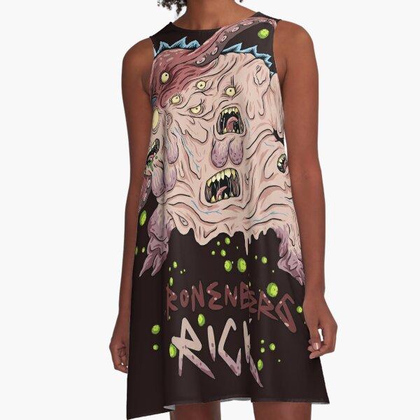 The Cronenberg Rick A-Line Dress