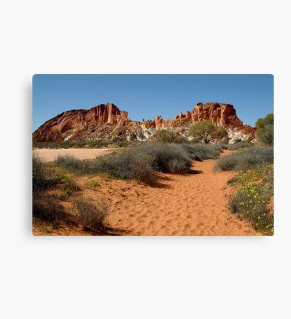 Rainbow Valley, Northern Territory Canvas Print