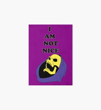 I AM NOT NICE Art Board