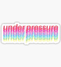 Queen & David Bowie 'Under Pressure' Sticker