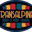 Transalpina Road Romania T-Shirt + Sticker by ROADTROOPER