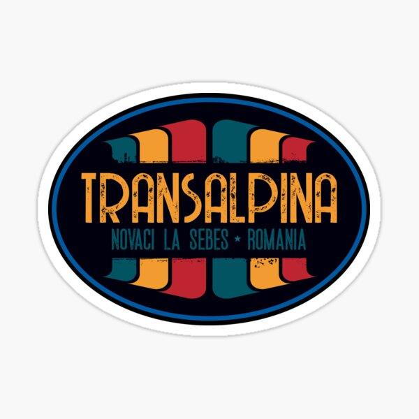 Transalpina Road Romania T-Shirt + Sticker Sticker