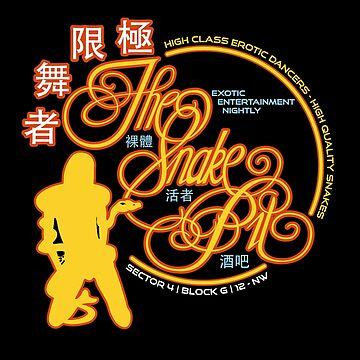 Blade Runner - Die Schlange Pitt Neon Extravaganza von Purakushi