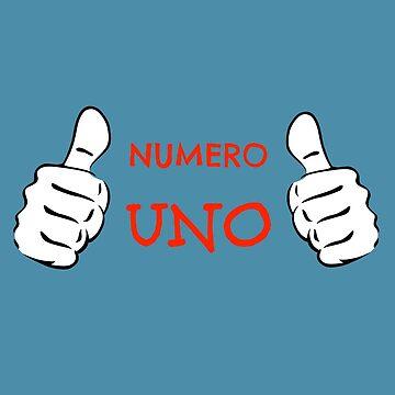 Numero Uno by miniverdesigns