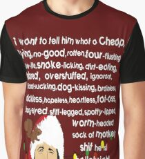 Clark Griswold Rant Graphic T-Shirt