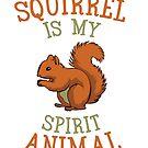 Squirrel autumn animal kobel rodent chipmunk nuts hiding gift favorite animal by ArtOfCopenhagen