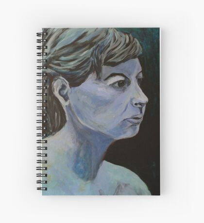 ice queen Spiral Notebook
